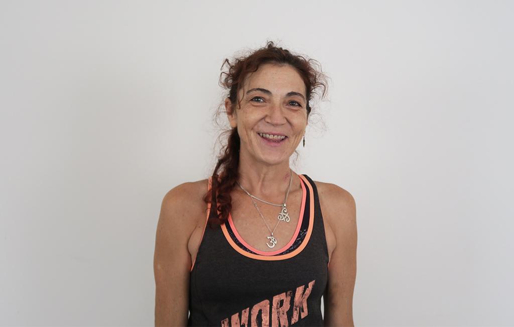 Itziar Arrastia profesora de Pilates