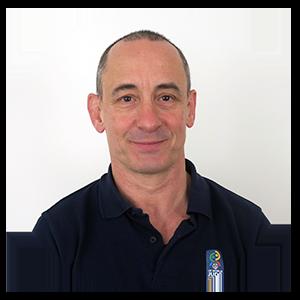 Gerente del Polideportivo Larraona y profesor de judo